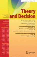 Theory and Decision 4/2002