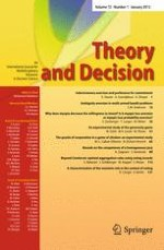 Theory and Decision 1/2012