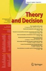 Theory and Decision 3/2013