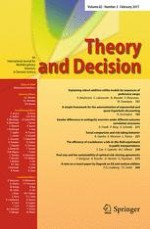 Theory and Decision 2/2017