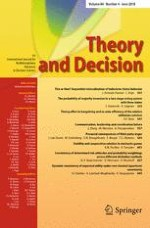 Theory and Decision 4/2018
