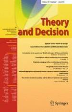 Theory and Decision 1/2018