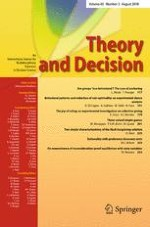 Theory and Decision 2/2018