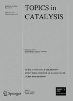 Topics in Catalysis 11-13/2012