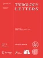 Tribology Letters 2/2013