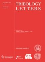 Tribology Letters 3/2015