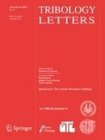 Tribology Letters 4/2017