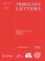 Tribology Letters 4/2018