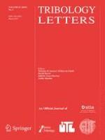 Tribology Letters 1/2019