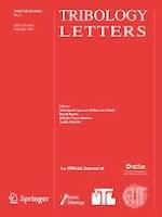 Tribology Letters 3/2021