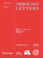 Tribology Letters 4/2021