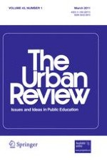 The Urban Review 1/2011