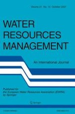 Water Resources Management 10/2007