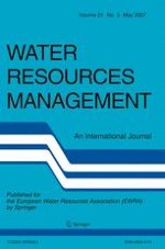 Water Resources Management 5/2007
