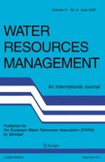 Water Resources Management 6/2007
