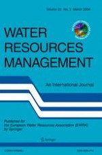 Water Resources Management 3/2008