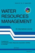 Water Resources Management 10/2009
