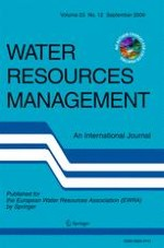 Water Resources Management 12/2009