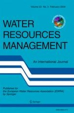 Water Resources Management 3/2009
