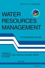Water Resources Management 5/2009
