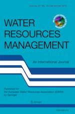 Water Resources Management 15/2019