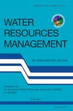 Water Resources Management 5/2019