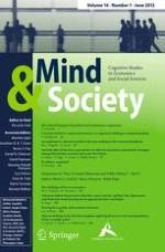 Mind & Society 1/2015