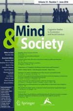 Mind & Society 1/2016