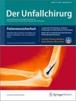 Der Unfallchirurg 9/2011