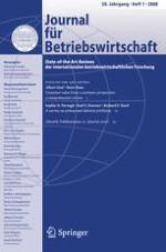 Management Review Quarterly 1/2008