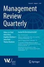 Management Review Quarterly 3/2017