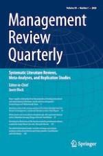 Management Review Quarterly 1/2020