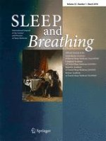 Sleep and Breathing 1/2018