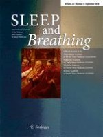 Sleep and Breathing 3/2018