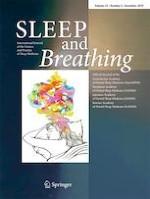 Sleep and Breathing 4/2019