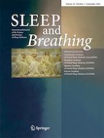 Sleep and Breathing 3/2020