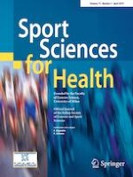 Sport Sciences for Health 1/2019