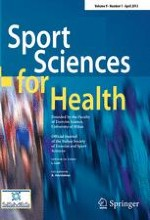 Sport Sciences for Health 1/2013