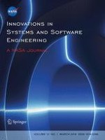 Innovations in Systems and Software Engineering 1/2016