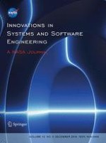 Innovations in Systems and Software Engineering 4/2016