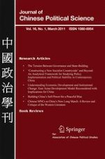 Journal of Chinese Political Science 1/2011