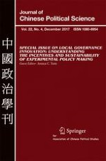 Journal of Chinese Political Science 4/2017