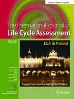 The International Journal of Life Cycle Assessment 5/2009