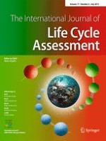 The International Journal of Life Cycle Assessment 6/2012