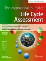 The International Journal of Life Cycle Assessment 9/2013