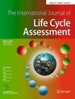 The International Journal of Life Cycle Assessment 7/2016