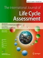 The International Journal of Life Cycle Assessment 12/2018