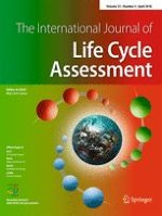 The International Journal of Life Cycle Assessment 4/2018