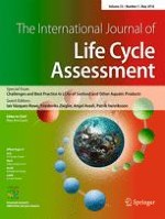 The International Journal of Life Cycle Assessment 5/2018