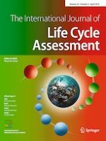 The International Journal of Life Cycle Assessment 4/2019